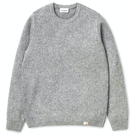 Carhartt Allen Sweater - Grey Heather