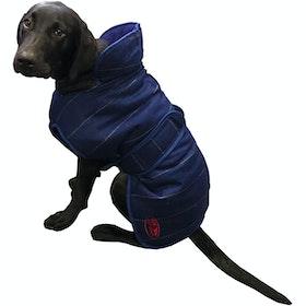 Weatherbeeta Tweed Dog Jacket - Navy