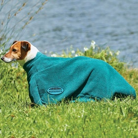 Weatherbeeta Dry Bag Dog Towel - Hunter Green