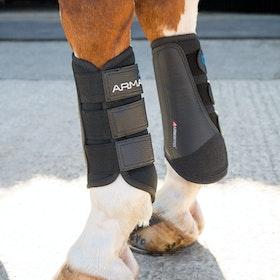Shires ARMA Brushing Boot - Black