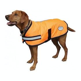 Weatherbeeta Reflective Parka 300D Dog Jacket - Orange