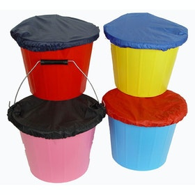 Lincoln Elasticated Stable Bucket Cover - Red