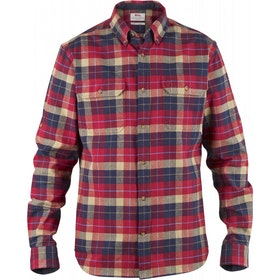 Fjallraven Singi Heavy Flannel Shirt - Deep Red