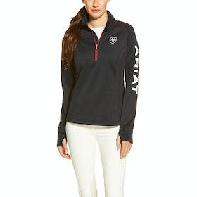 Ariat Tek Team Quarter Zip Ladies Fleece - Navy