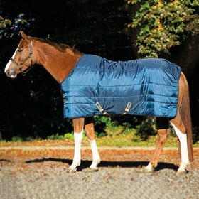 Mio Stable Insulator Heavy Stable Rug - Navy Tan