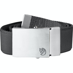 Fjallraven Canvas Money Web Belt - Dark Grey