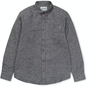 Carhartt Cram Skjorte - Dark Grey Heather