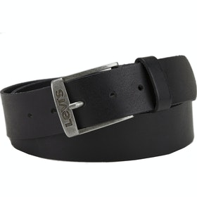 Levi's New Duncan Leather Belt - Black