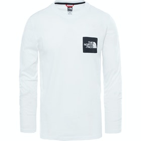 North Face Capsule Fine 長袖 T シャツ - TNF White