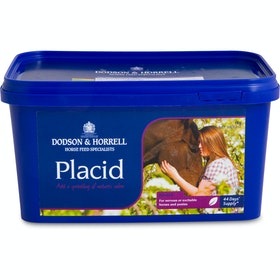 Suplemento calmante Dodson and Horrell Placid - 1kg