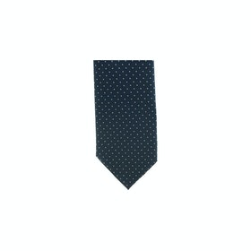 Showquest Pin Spot Tie - Navy White