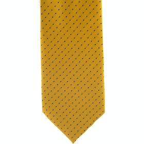 Showquest Pin Spot Tie - Sunshine Navy