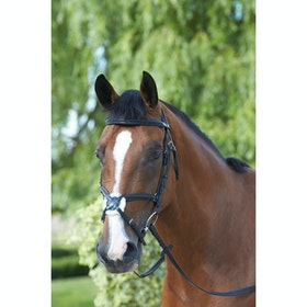 Mark Todd Padded Grackle Bridle - black