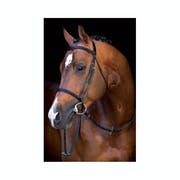 Mio Leather Snaffle Bridle