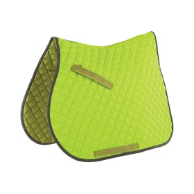 Roma Reflective Saddlepads - Yellow