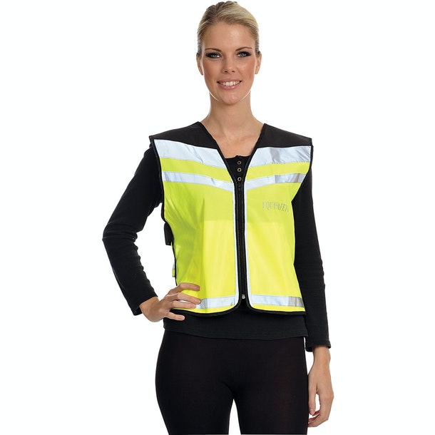 Gilet réfléchissant Equisafety Caution Young Horse Air