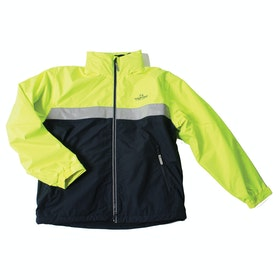 Horseware Neon Corrib Kinder Riding Jacket - Fluorescent