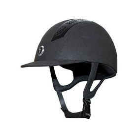 Gatehouse Chelsea Air Flow Pro Suedette Riding Hat - Black