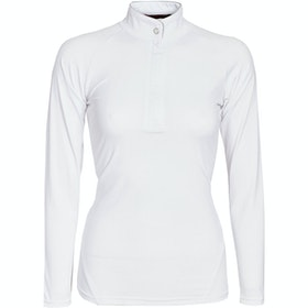 Horseware Sara Long Sleeve Ladies Competition Shirt - White