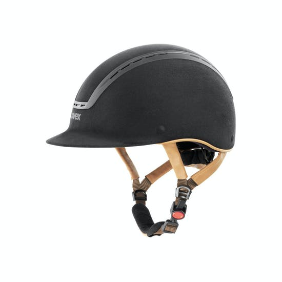 Uvex Riding Suxxeed Velour Riding Hat