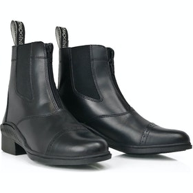 Brogini Tivoli Synthetic Childrens Jodhpur Boots - Black
