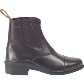 Brogini Tivoli Synthetic Childrens Jodhpur Boots - Brown