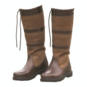 Shires Moretta Teo Long Ladies Country Boots - Brown