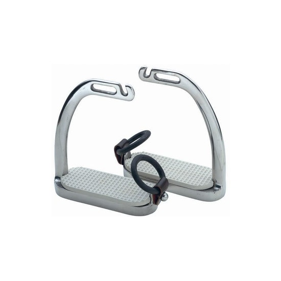 Shires Fillis Peacock Safety Stirrup Irons