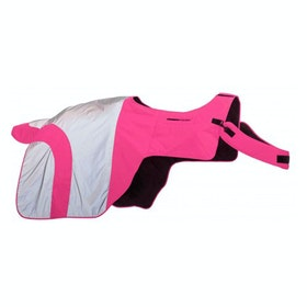 Equisafety Mercury Reflective Exercise Sheet - Pink