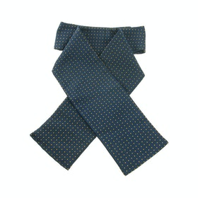 Showquest Tied Pin Spot Competition Stock - Navy White