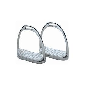 Shires Economy Stirrup Irons - Silver