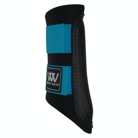 Woof Wear Club Colour Fusion Brushing Boot - Black Turquoise