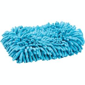 Roma Microfibre Wash Grooming Mitt - Aqua
