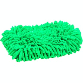 Roma Microfibre Wash Grooming Mitt - lime