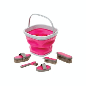 Roma Bucket Grooming KIt - Pink