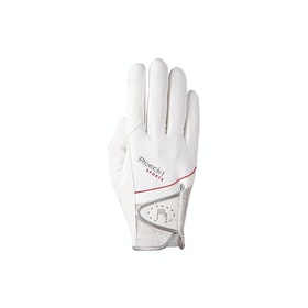 Roeckl Madrid , Competition Glove - White