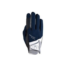 Roeckl Madrid Competition Glove - Navy Blue