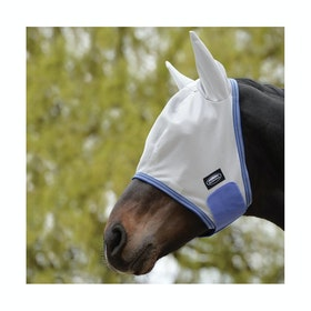 Masque anti-mouches Weatherbeeta ComFiTec Airflow - Grey Blue Grey
