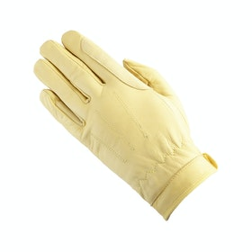 Equetech Leather Competition Glove - Corn