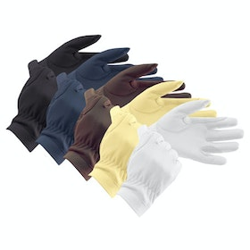 Equetech Leather Competition Glove - Black