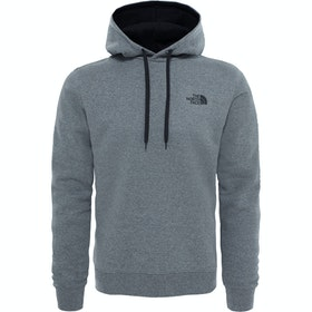 North Face Seasonal Drew Peak Pullover Hoody - Medium Grey Heather TNF Black