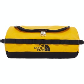 North Face Base Camp Travel Canister Large Washbag - Summit Gold TNF Black