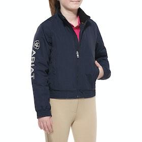 Ariat Stable Team Childrens Jacket - Navy