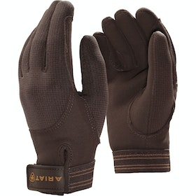 Ariat Insulated Tek Grip Gloves - Brown