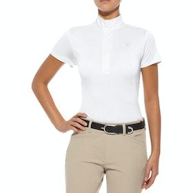 Ariat Aptos Show Dames Wedstrijdshirt - White
