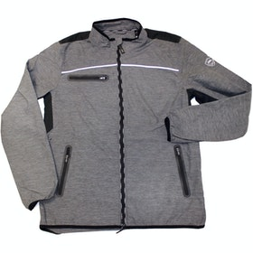 AA Platinum Mens Cuneo Packable Windbreaker Mens Riding Jacket - Grey