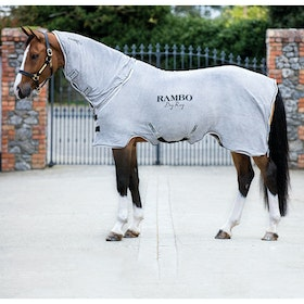Rambo Dry Cooler Rug - Grey Silver