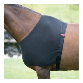 Shires Anti-Rub Stretch Shoulder Guard - Black