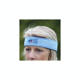 Shires Equicool Down Headband - Blue
