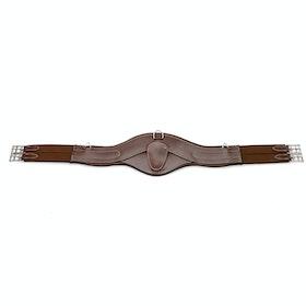 John Whitaker Classic Leather Pressure Girths - Havana